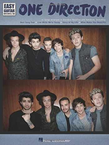 9781495001987-1495001989-One Direction - Easy Guitar with Tab: Easy Guitar with Notes & Tab