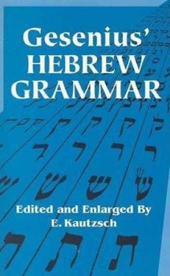 9780486443447-0486443442-Gesenius' Hebrew Grammar (Dover Language Guides)