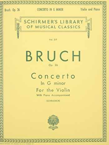 9781458426437-1458426432-CONCERTO IN G MINOR FOR THE VIOLIN AND PIANO OP26 (Schirmer Library of Classics)