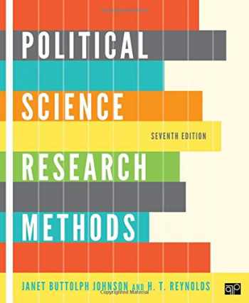 9781608716890-1608716899-Political Science Research Methods