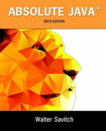 9780134041674-0134041674-Absolute Java (6th Edition)