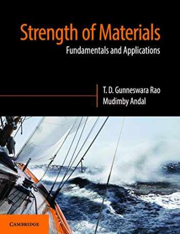 9781108454285-1108454283-Strength of Materials: Fundamentals and Applications