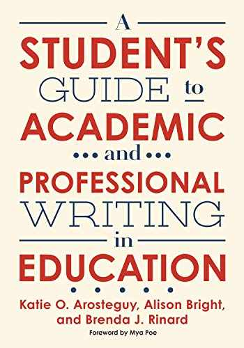 9780807761236-0807761230-A Student's Guide to Academic and Professional Writing in Education