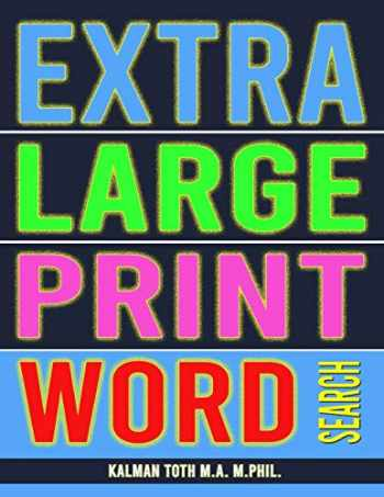 9781975750404-1975750403-Extra Large Print Word Search: 102 Giant Print Themed Word Search Puzzles