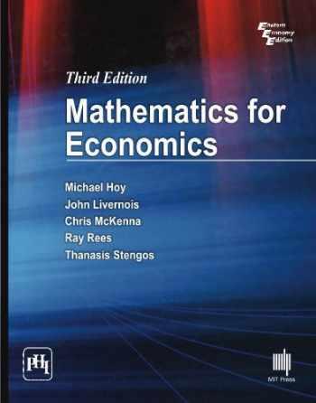 9788120346482-8120346483-Mathematics for Economics