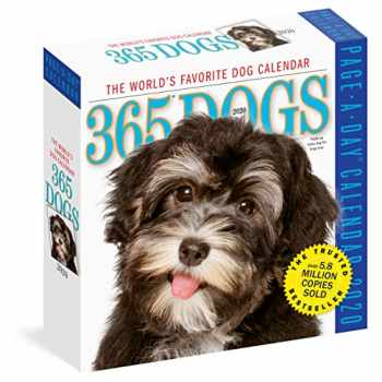 9781523506408-1523506407-365 Dogs Page-A-Day Calendar 2020