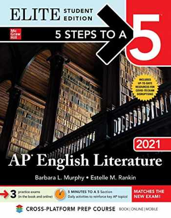 9781260466942-1260466949-5 Steps to a 5: AP English Literature 2021 Elite Student edition (5 Steps To A 5 AP English Literature Elite)