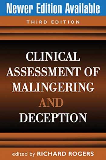9781593856991-1593856997-Clinical Assessment of Malingering and Deception, Third Edition