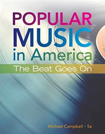 9781337560375-1337560375-Popular Music in America: The Beat Goes On