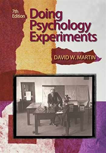 9780495115779-0495115770-Doing Psychology Experiments, 7th Edition