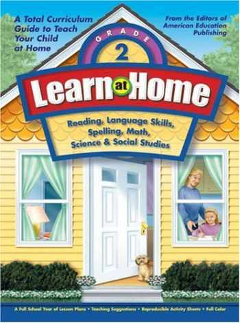 9781561895106-1561895105-Learn at Home, Grade 2: Reading, Language Skills, Spelling, Math, Science & Social Studies