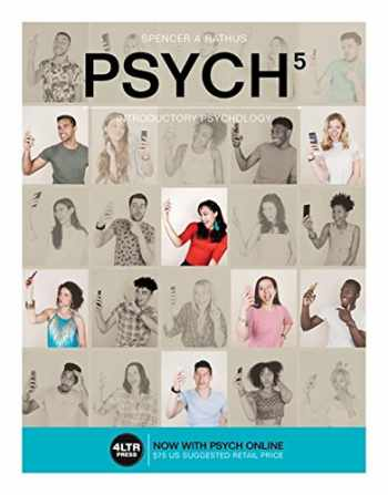 9781305662704-1305662709-PSYCH 5, Introductory Psychology, 5th Edition (New, Engaging Titles from 4LTR Press)
