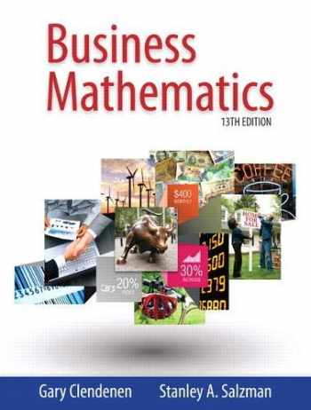 9780321937032-0321937031-Business Mathematics plus MyLab Math with Pearson eText -- Access Card Package (13th Edition)