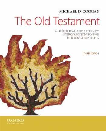 9780199946617-0199946612-The Old Testament: A Historical and Literary Introduction to the Hebrew Scriptures