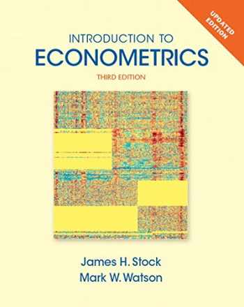 9780133595420-0133595420-Introduction to Econometrics, Update Plus NEW MyLab Economics with Pearson eText -- Access Card Package (Pearson Series in Economics)