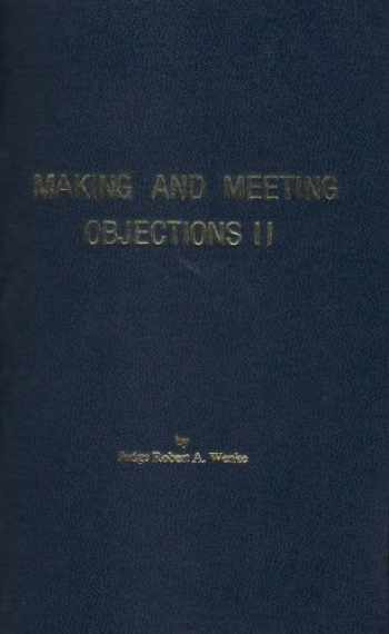 9781933408095-193340809X-Making and Meeting Objections II