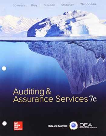 9781260149326-1260149323-GEN COMBO LOOSELEAF AUDITING & ASSURANCE SERVICES; CONNECT ACCESS CARD