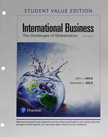 9780134730127-0134730127-International Business: The Challenges of Globalization, Student Value Edition (9th Edition)