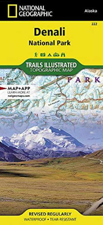 9781566953283-1566953286-Denali National Park and Preserve (National Geographic Trails Illustrated Map, 222)