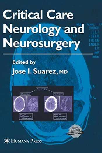 9781588290892-1588290891-Critical Care Neurology and Neurosurgery (Current Clinical Neurology)