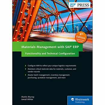 9781493213573-1493213571-Materials Management with SAP ERP: Functionality and Technical Configuration (SAP MM) (4th Edition) (SAP PRESS)