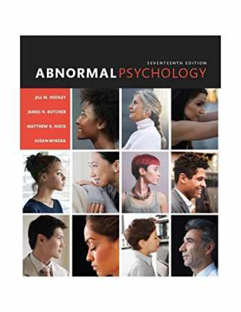 9780133852059-0133852059-Abnormal Psychology (17th Edition)