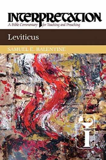 9780664238803-0664238807-Leviticus: Interpretation: A Bible Commentary for Teaching and Preaching (Interpretation: A Bible Commentary for Teaching & Preaching)