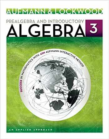 9781133365426-1133365426-Prealgebra and Introductory Algebra: An Applied Approach