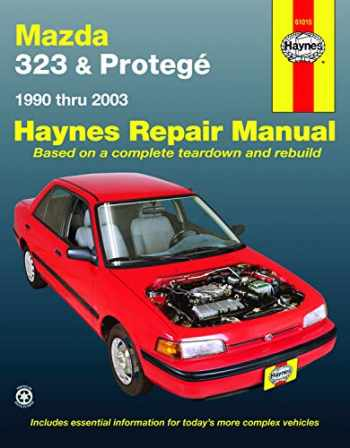 9781563929687-1563929686-Mazda 323 & Protege (90-03) Haynes Repair Manual (Does not include information specific to 4WD models or turbocharged models. Includes vehicle coverage apart from the specific exclusion noted)
