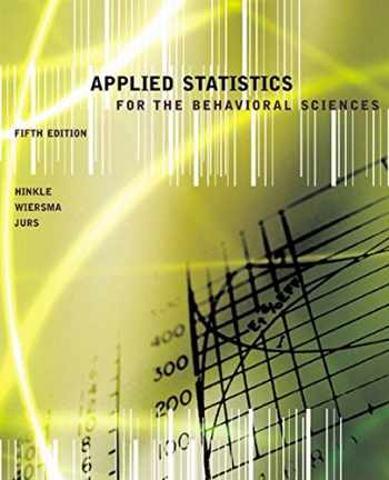 9780618124053-0618124055-Applied Statistics for the Behavioral Sciences