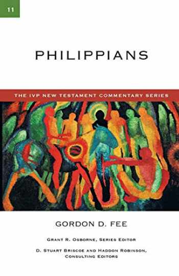9780830840113-0830840117-Philippians (The IVP New Testament Commentary Series, Volume 11)