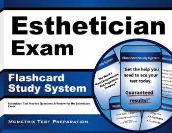 9781609716820-1609716825-Esthetician Exam Flashcard Study System: Esthetician Test Practice Questions & Review for the Esthetician Exam (Cards)