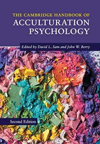 9781107504226-1107504228-The Cambridge Handbook of Acculturation Psychology (Cambridge Handbooks in Psychology)