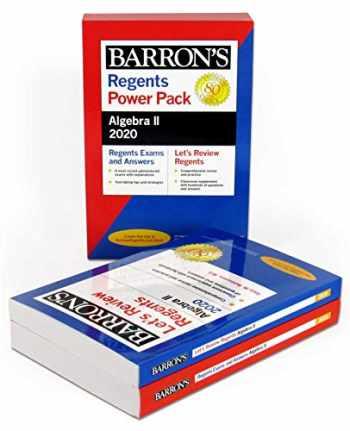 9781506253893-150625389X-Regents Algebra II Power Pack 2020 (Barron's Regents NY)