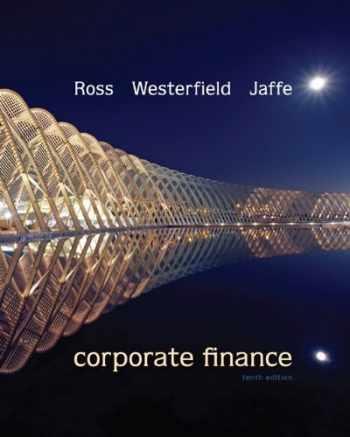 9780078034770-0078034779-Corporate Finance, 10th Edition