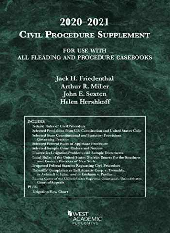 9781684679706-1684679702-Civil Procedure Supplement, for Use with All Pleading and Procedure Casebooks, 2020-2021 (American Casebook Series)