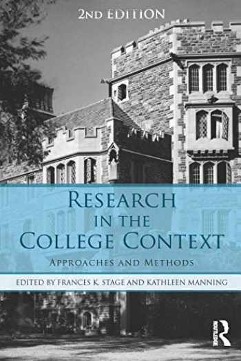 9781138824782-113882478X-Research in the College Context: Approaches and Methods