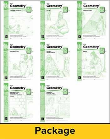 9781559531016-1559531010-Key to Geometry - Books 1 thru 8