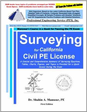 9780982372630-0982372639-Surveying for California Civil PE License