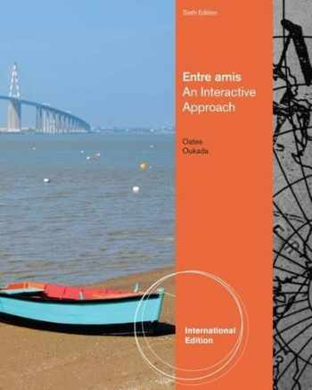 9780840028952-0840028954-Entre Amis, International Edition (English and French Edition)