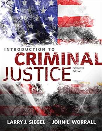 9781305261044-1305261046-Introduction to Criminal Justice