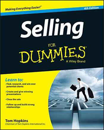 9781118967232-1118967232-Selling For Dummies
