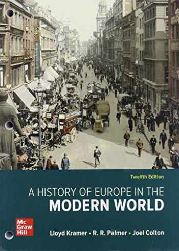 9781260693485-1260693481-GEN COMBO LL A HISTORY OF EUROPE IN THE MODERN WORLD; CONNECT ACCESS CARD