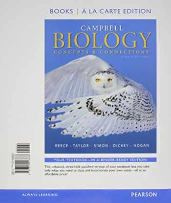 9780133909029-0133909026-Campbell Biology: Concepts & Connections, Books a la Carte Plus Mastering Biology with eText -- Access Card Package (8th Edition)