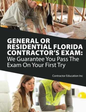 9781985019652-1985019655-General or Residential Florida Contractor's Exam: We Guarantee You Pass The Exam On Your First Try
