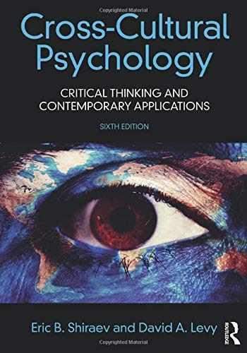 9781138668386-1138668389-Cross-Cultural Psychology
