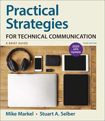 9781319362294-131936229X-Practical Strategies for Technical Communication with 2020 APA Update: A Brief Guide