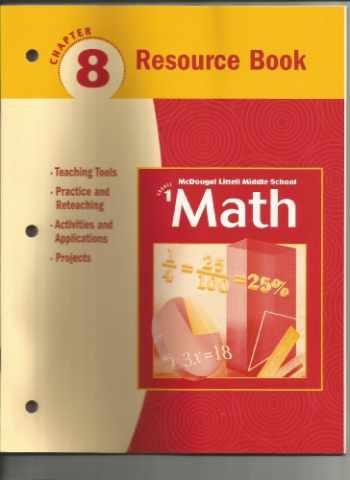 9780618260911-0618260919-McDougal Littell Middle School Math, Course 1: Resource Book Chapter 8
