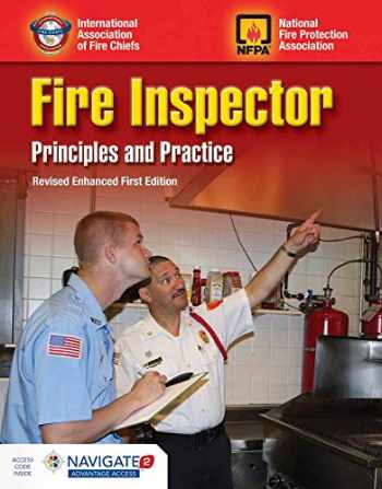 9781284137743-1284137740-Fire Inspector: Principles and Practice Student Workbook: Revised Enhanced First Edition