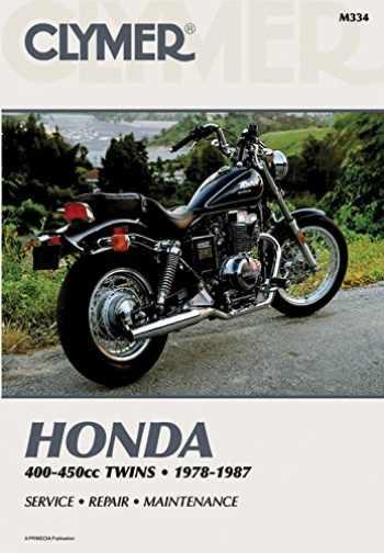 9780892872343-0892872349-Clymer Honda 400-450cc Twins 1978-1987: Service, Repair, Maintenance (Clymer Motorcycle)
